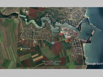 Limanu – teren 35000 mp, aproape de constructii.