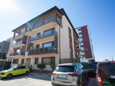 Tomis Plus - Apartament 3 camere cu terasa, bloc finalizat, mobilat, parcare